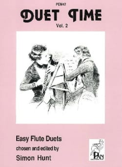 Duet time - Volume 2 – Flutes - Simon Hunt - laflutedepan.com