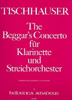 The Beggar's Concerto -Klarinette Klavier - laflutedepan.com