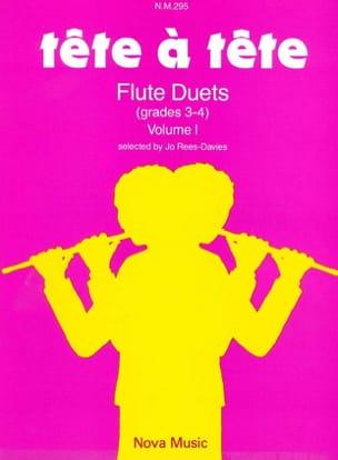 Jo Rees-Davies - Tête à Tête - Volume 1 – Flute Duets - Partition - di-arezzo.fr