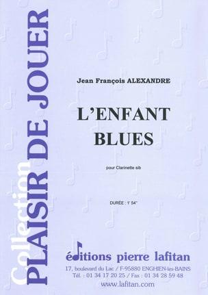 L'enfant blues Jean-François Alexandre Partition laflutedepan