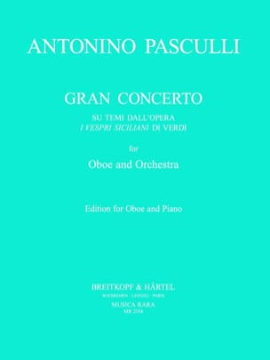 Antonino Pasculli - Gran concerto - Sheet Music - di-arezzo.co.uk