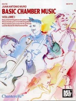 Basic Chamber Music – Volume 1 - Juan Antonio Muro - laflutedepan.com