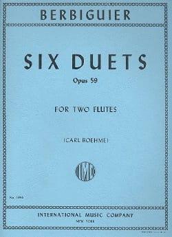 6 Duets op. 59 – 2 Flutes - laflutedepan.com