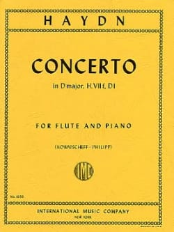 HAYDN - Concerto in D major Hob. 7 f, D1 - Flute piano - Partition - di-arezzo.fr
