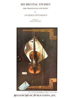 Jacques Offenbach - Six récitals studies - Partition - di-arezzo.fr