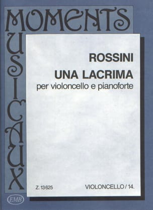 Gioacchino Rossini - Una lacrima - Partition - di-arezzo.fr