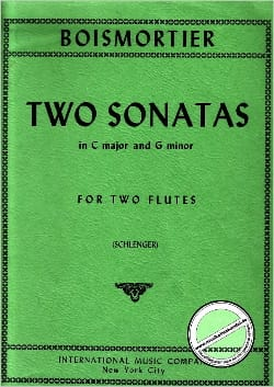 2 Sonatas C major and g minor - 2 Flutes - laflutedepan.com