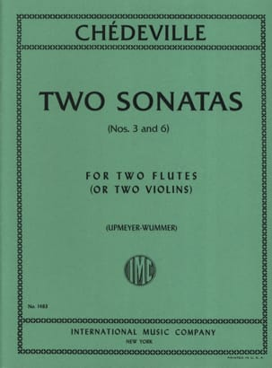 2 Sonatas op. 8 (n° 3 and 6) – 2 Flutes - laflutedepan.com