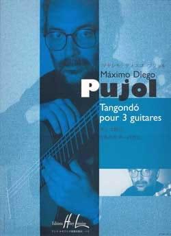 Tangondo pour 3 guitares - Maximo Diego Pujol - laflutedepan.com