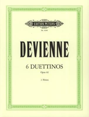 6 Duettinos op. 82 - 2 Flöten François Devienne Partition laflutedepan
