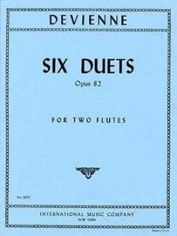 François Devienne - 6 Duets op. 82 – 2 Flutes - Partition - di-arezzo.fr