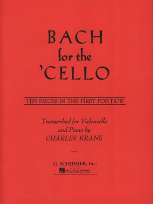 Bach for the Cello - BACH - Partition - Violoncelle - laflutedepan.com
