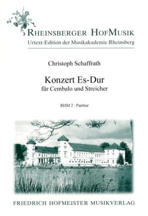 Konzert für Cembalo Es-Dur - Partitur - laflutedepan.com