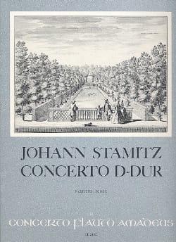 Johann Stamitz - Concerto D-Dur – Flöte Klavier - Partition - di-arezzo.fr