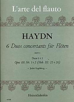 Joseph Haydn - 6 Duos concertants op. 101 (Heft 1) – 2 Flöten - Partition - di-arezzo.fr