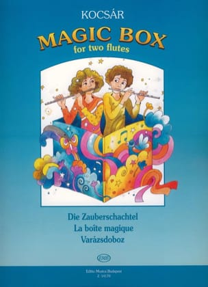 Miklos Kocsar - Magic Box - 2 Flutes - Sheet Music - di-arezzo.co.uk
