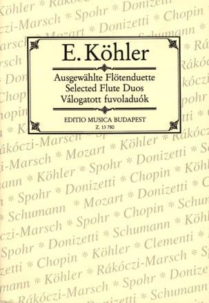 Ausgewählte Flötenduette - 2 Flöten - laflutedepan.com