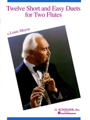 12 Short and easy duets - 2 Flûtes Louis Moyse Partition laflutedepan