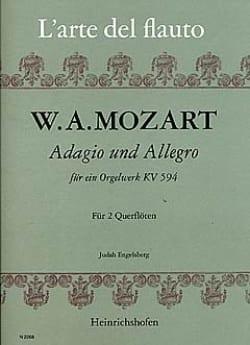 Adagio und Allegro KV 594 - 2 Flöten - MOZART - laflutedepan.com