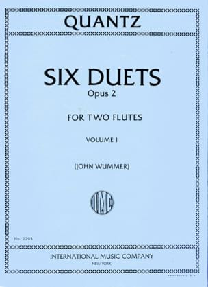6 Duets op. 2 - Volume 1 - 2 Flutes - laflutedepan.com