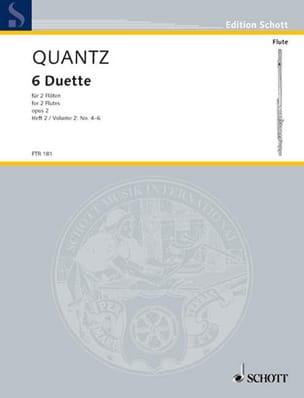 6 Duette op. 2 - Heft 2 Nr. 4-6 - 2 Flöten laflutedepan