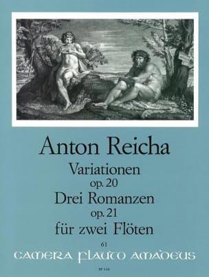 Variationen op. 20 - 3 Romanzen op. 21 - 2 Flöten laflutedepan