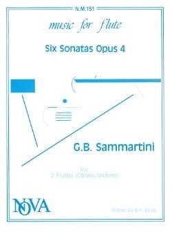 6 Sonatas op. 4 - 2 Flutes oboes/violins - laflutedepan.com