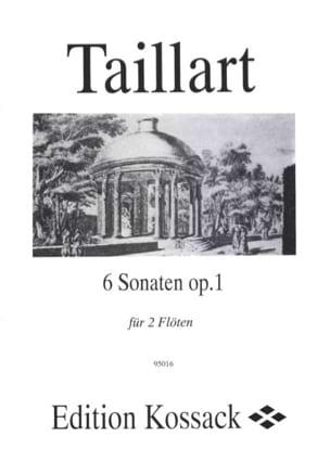 Pierre Taillart - 6 Sonaten op. 1 – 2 Flöten - Partition - di-arezzo.fr