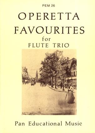 - Operetta favourites - Flute Trio - Partition - di-arezzo.fr