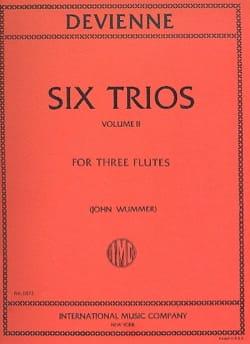 6 Trios Volume 2 - 3 Flutes DEVIENNE Partition laflutedepan