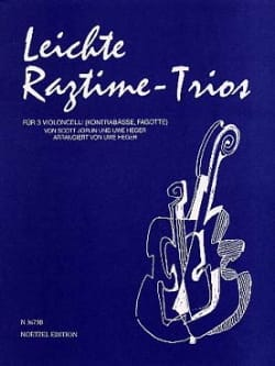Joplin Scott / Heger Uwe - Leichte Ragtime-Trios - Sheet Music - di-arezzo.co.uk