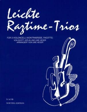 Leichte Ragtime-Trios Joplin Scott / Heger Uwe Partition laflutedepan