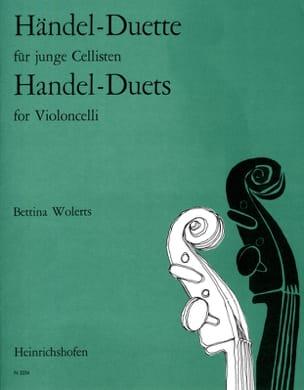 Haendel-Duets HAENDEL Partition Violoncelle - laflutedepan