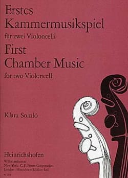 First Chamber Music for 2 Violoncelli - Klara Somlo - laflutedepan.com