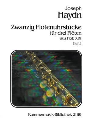 20 Flötenuhrstücke Aus Hob. 19 (Heft 1) - 3 Flöten - laflutedepan.com