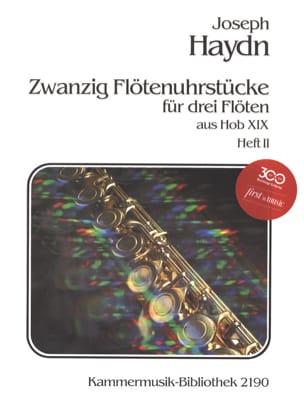 HAYDN - Flötenuhrstücke aus Hob. 19 Heft 2 - 3 Flöten - Sheet Music - di-arezzo.co.uk