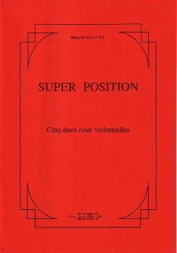 Super Position Bernard Malait Partition Violoncelle - laflutedepan