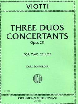 3 Duos concertants op. 29 - laflutedepan.com