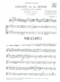 VIVALDI - Concerto in the min. - F. 1 No. 177 - Set - Sheet Music - di-arezzo.com