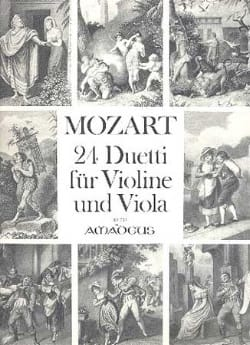 MOZART - 24 Duetti for Violine and Viola - Sheet Music - di-arezzo.co.uk