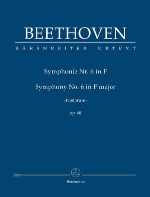 BEETHOVEN - Symphonie N°6 Op. 68 - Conducteur - Partition - di-arezzo.fr