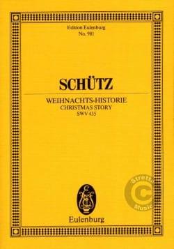 Weihnachts-Historie - Heinrich Schütz - Partition - laflutedepan.com