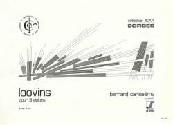 Loovins - Bernard Carloséma - Partition - Violon - laflutedepan.com
