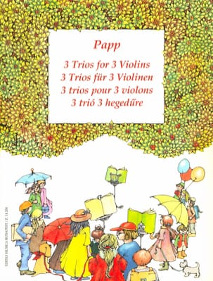 Lajos Papp - 3 Trios for 3 violins - Sheet Music - di-arezzo.com