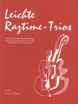 Joplin Scott / Heger Uwe - Leichte Ragtime -Trios - Sheet Music - di-arezzo.co.uk