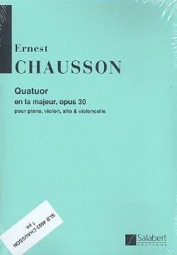 Ernest Chausson - Quartet A major op. 30 - Parties - Sheet Music - di-arezzo.com