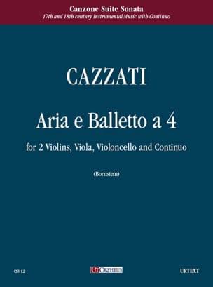 Aria e Balletto a quattro - Maurizio Cazzati - laflutedepan.com
