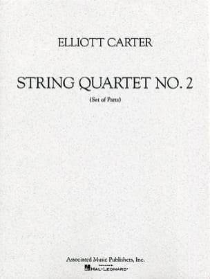 String quartet n° 2 – Parts - Elliott Carter - laflutedepan.com