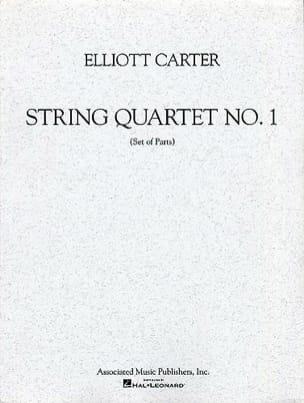 String quartet n° 1 - Parts Elliott Carter Partition laflutedepan
