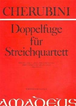 Luigi Cherubini - Doppelfuge for Streichquartett - Partitur Stimmen - Sheet Music - di-arezzo.com